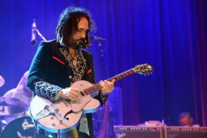 DOVER, DE - JUNE 22: Mike Campbell of Tom Petty & The Heartbreakers performs onstage at the Firefly Music Festival at The Woodlands of Dover International Speedway on June 22, 2013 in Dover, Delaware. (Photo by Theo Wargo/Getty Images for Firefly Music Festival)